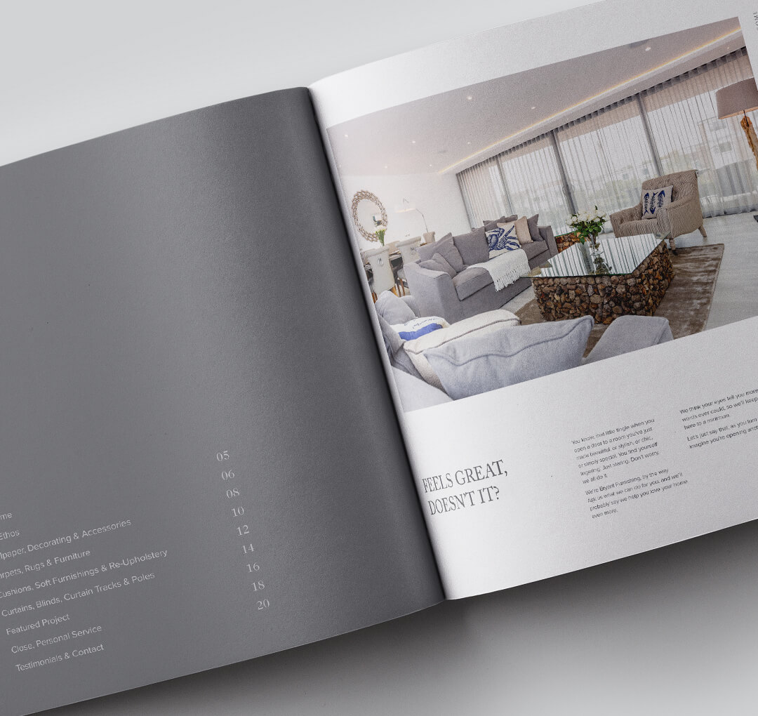 Bryant Interior Furnishings | We Are 778 Bournemouth Poole Branding Graphic Design Web Development Creative Agency