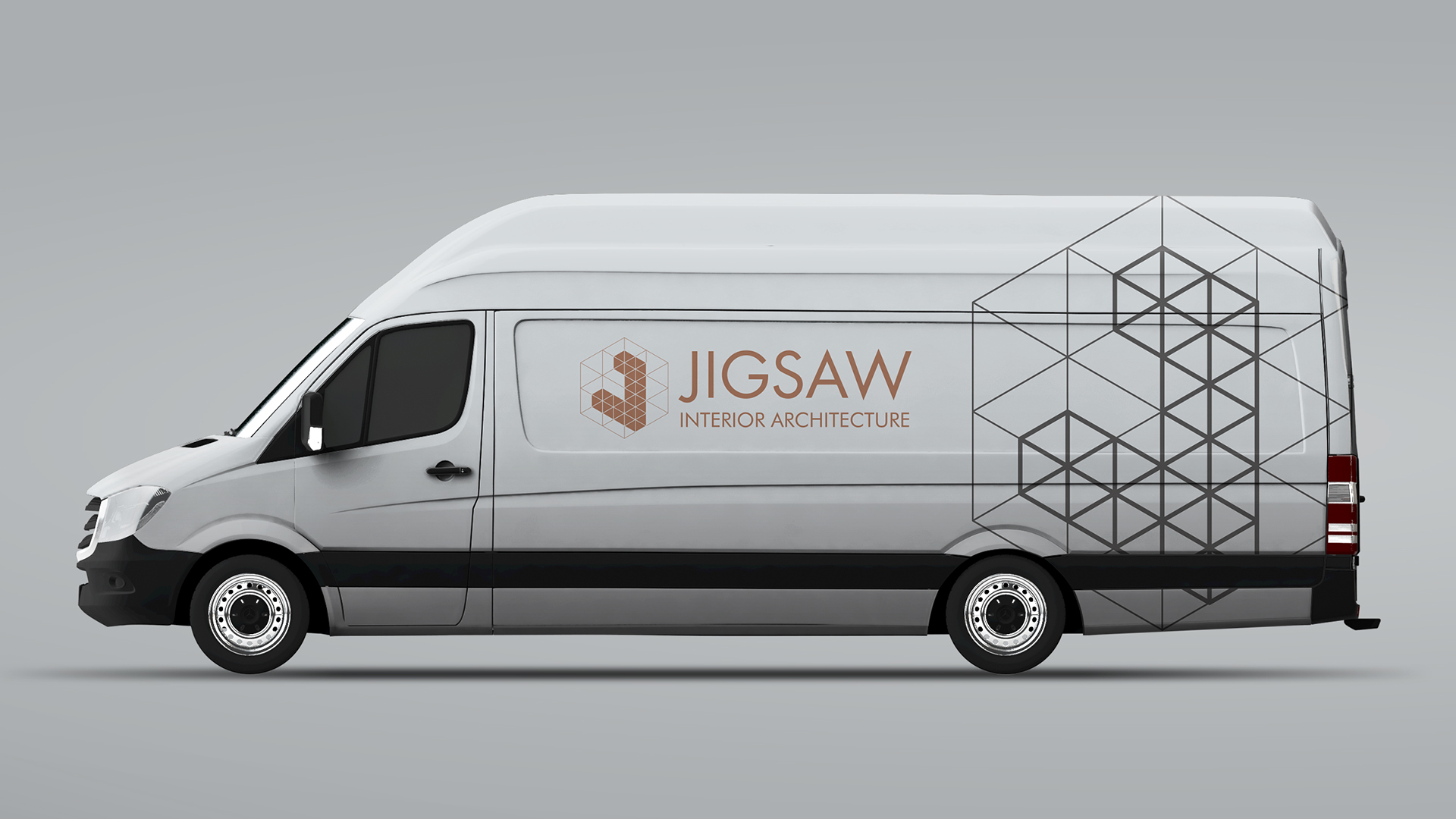 Jigsaw Interior Architecture Van Livery | We Are 778 Bournemouth Poole Branding Graphic Design Web Development Creative Agency