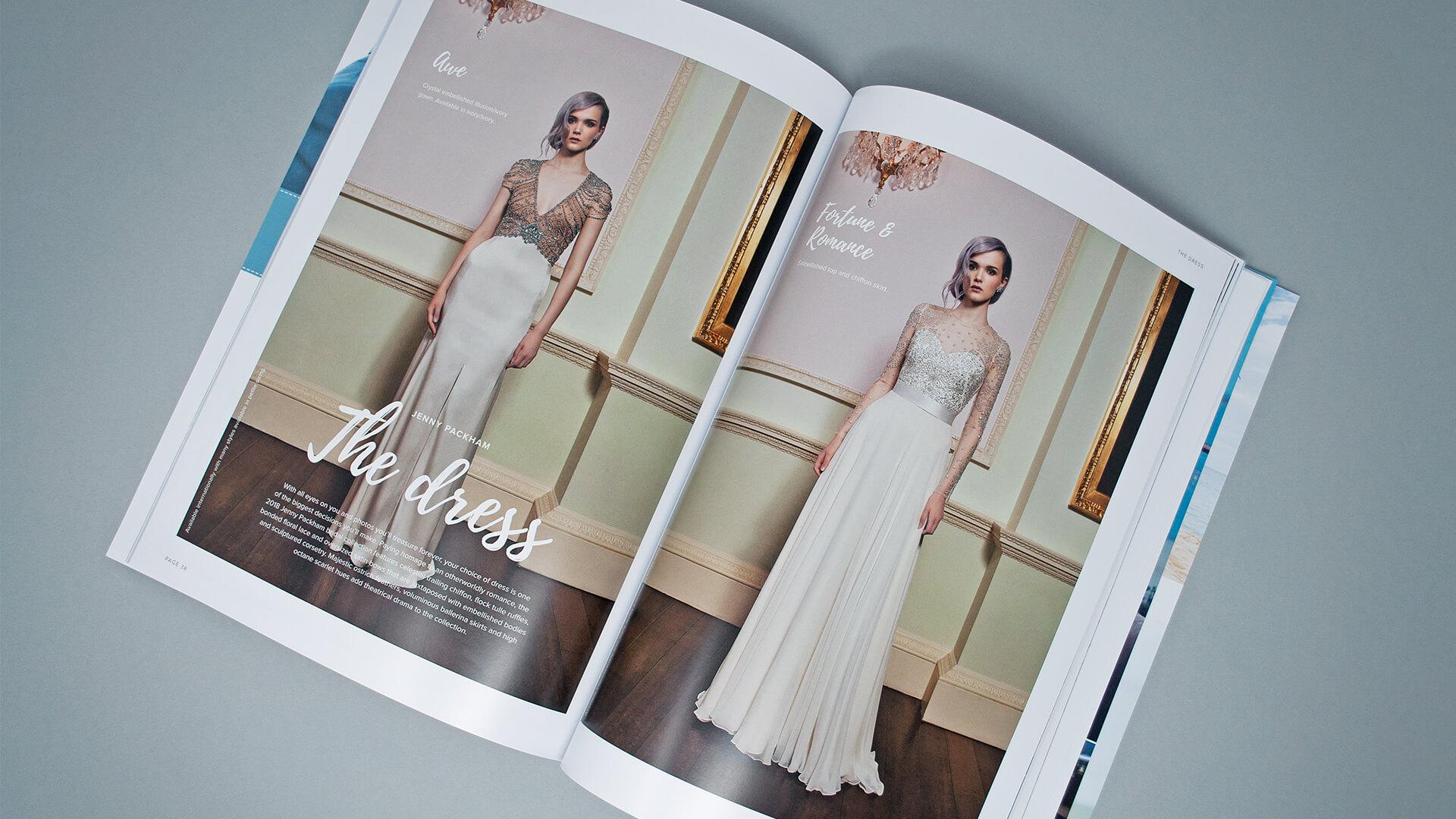 Harbour Hotels Wedding Magazine Publishing   We Are 778 Bournemouth Poole Branding Graphic Design Web Development Creative Agency