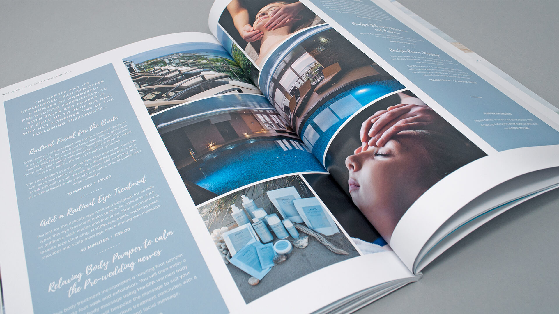 Harbour Hotels Wedding Magazine Publishing | We Are 778 Bournemouth Poole Branding Graphic Design Web Development Creative Agency